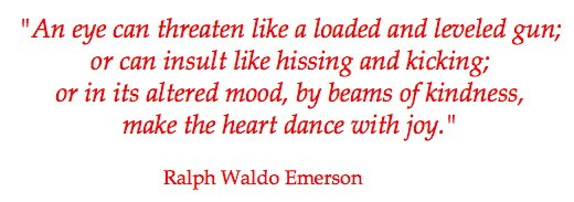 Eye Quote Ralph Waldo Emerson