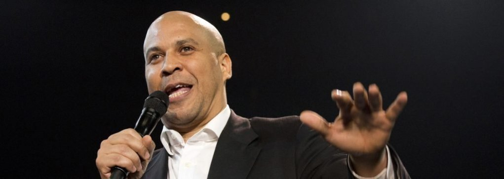 Cory Booker #5 - Photo Credit: AP