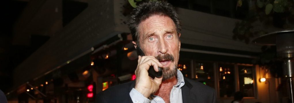 John McAfee #4 - Photo Credit: AP