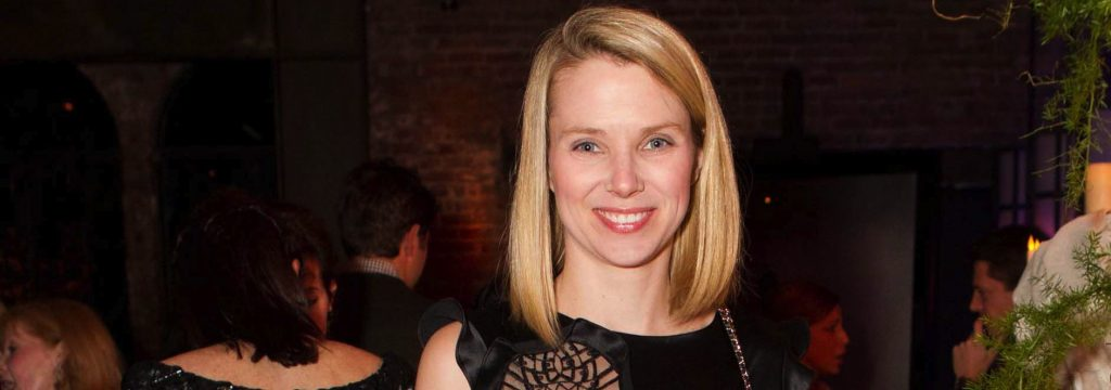 Marissa Mayer #10 - Photo Credit: AP