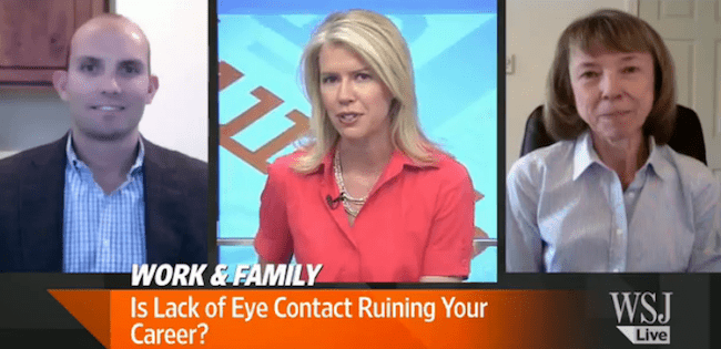 WSJ Live featuring Ben Decker on Eye Contact