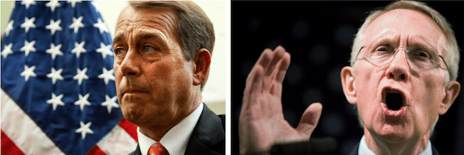 #3: John Boehner and Harry Reid