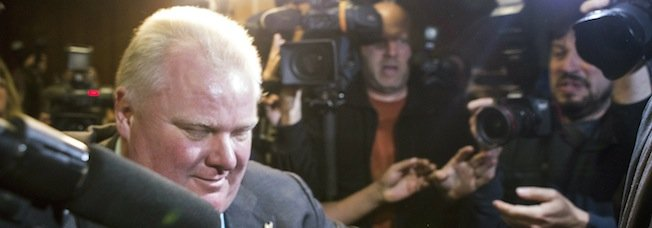 #9: Toronto Mayor Rob Ford