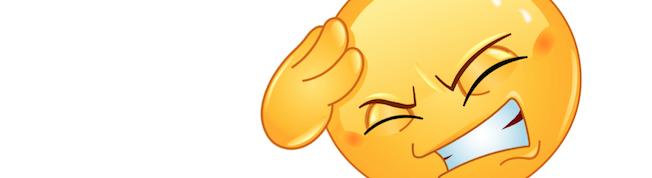 Sneeze Season: Migraine Emoji
