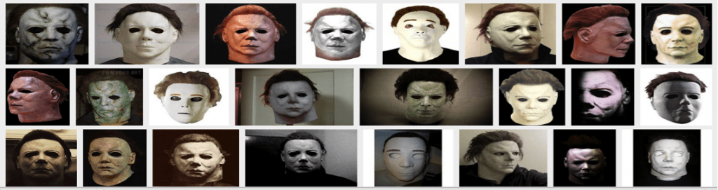 Halloween Mask Iterations