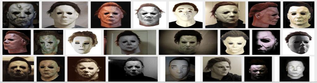 Halloween Mask Iterations